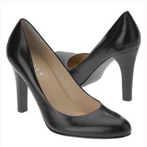 Ralph Lauren Zamora Black Pumps Leather